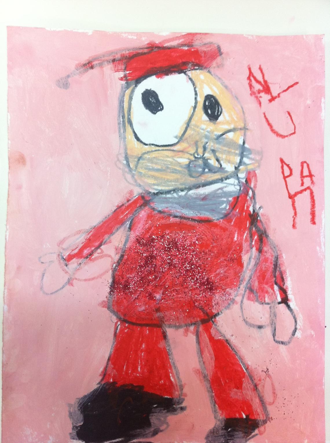Paula, 4 años.