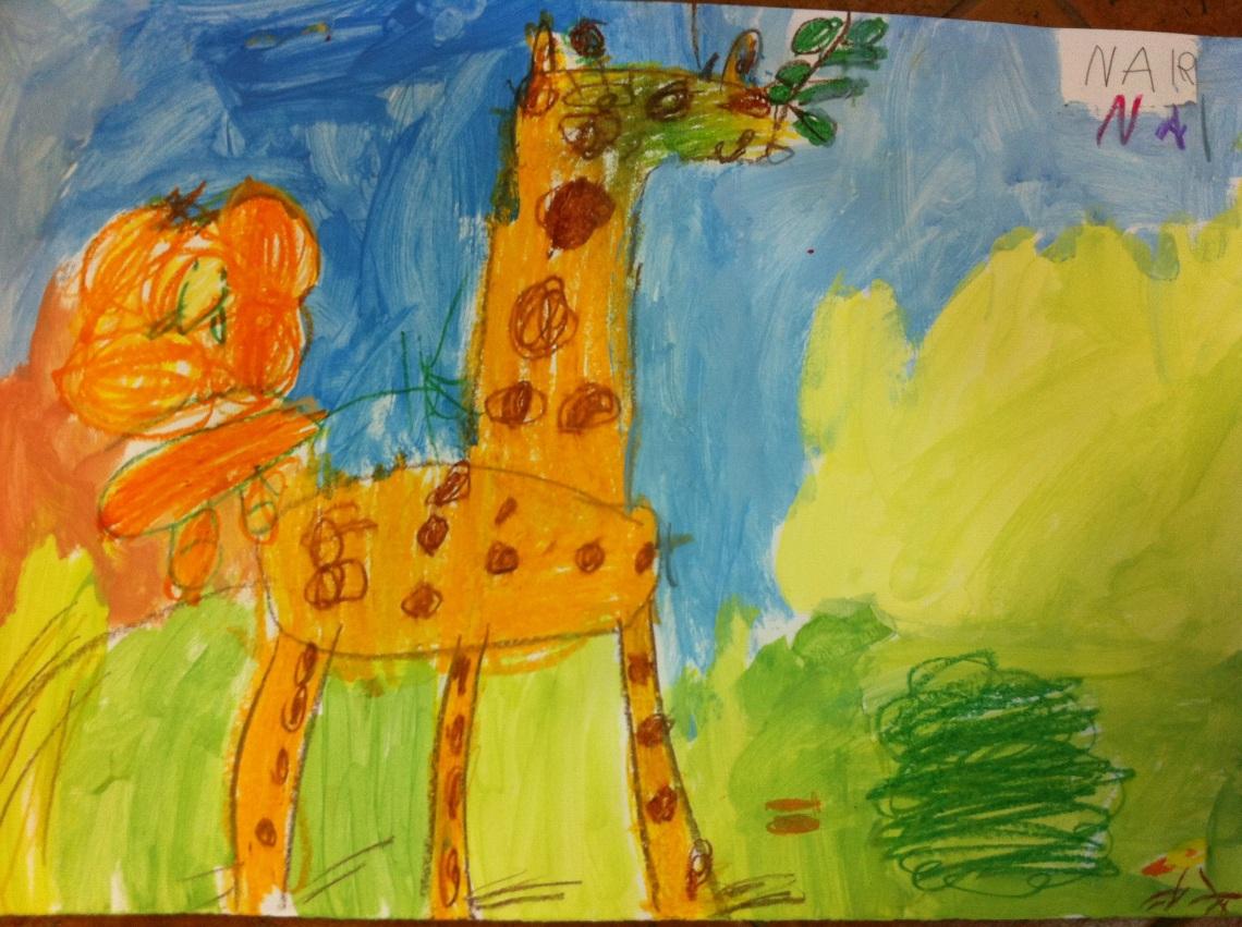 Nair, 4 años.