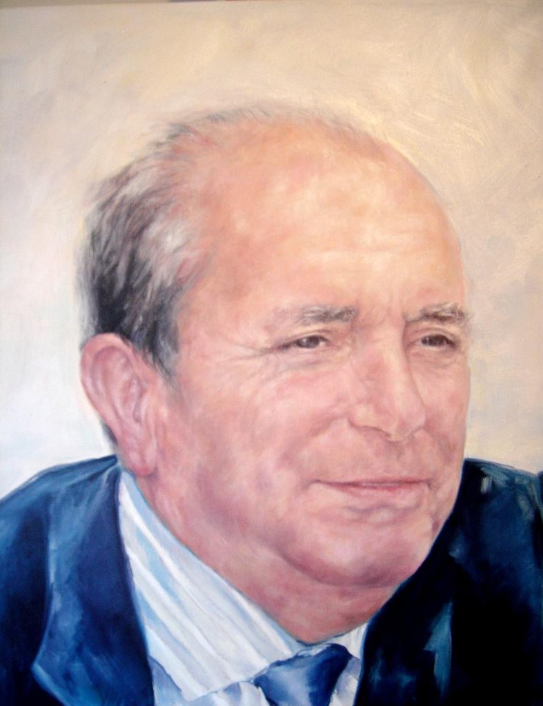 Retrato Óleo sobre lienzo. 60 x 50 cm. ©Eila Pérez Vázquez, Arte Miúda.