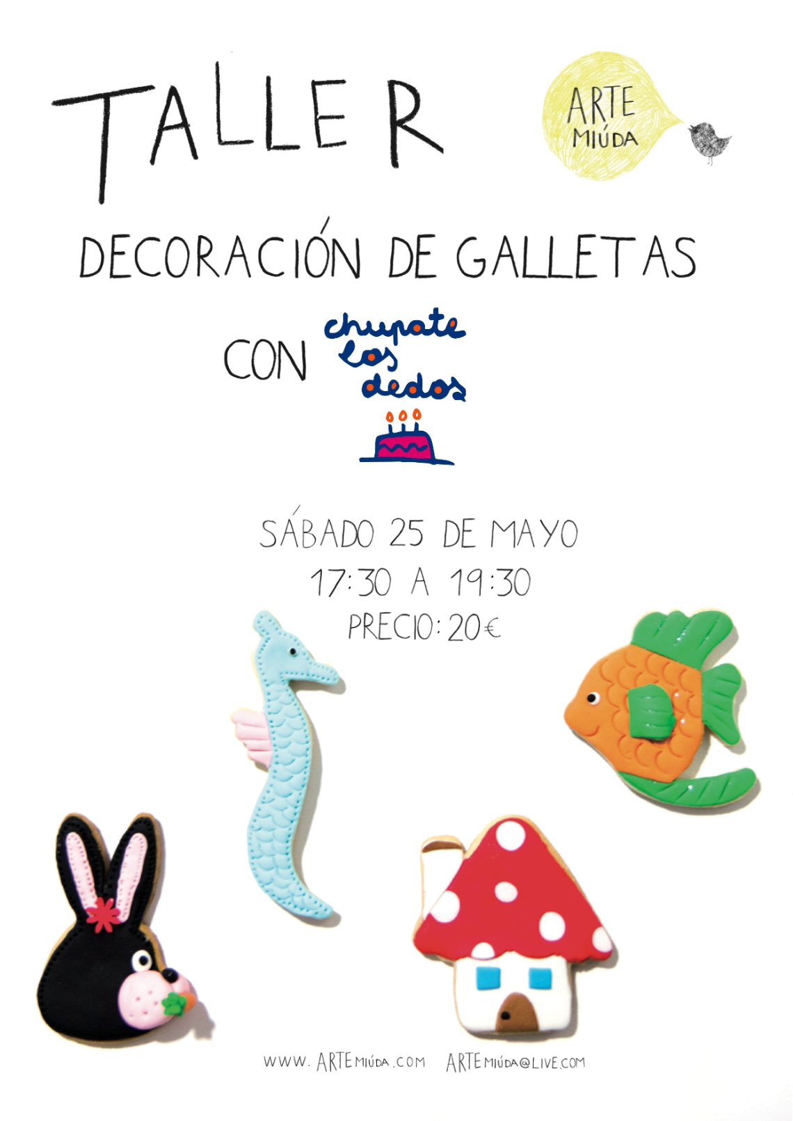 Cartel galletas25M
