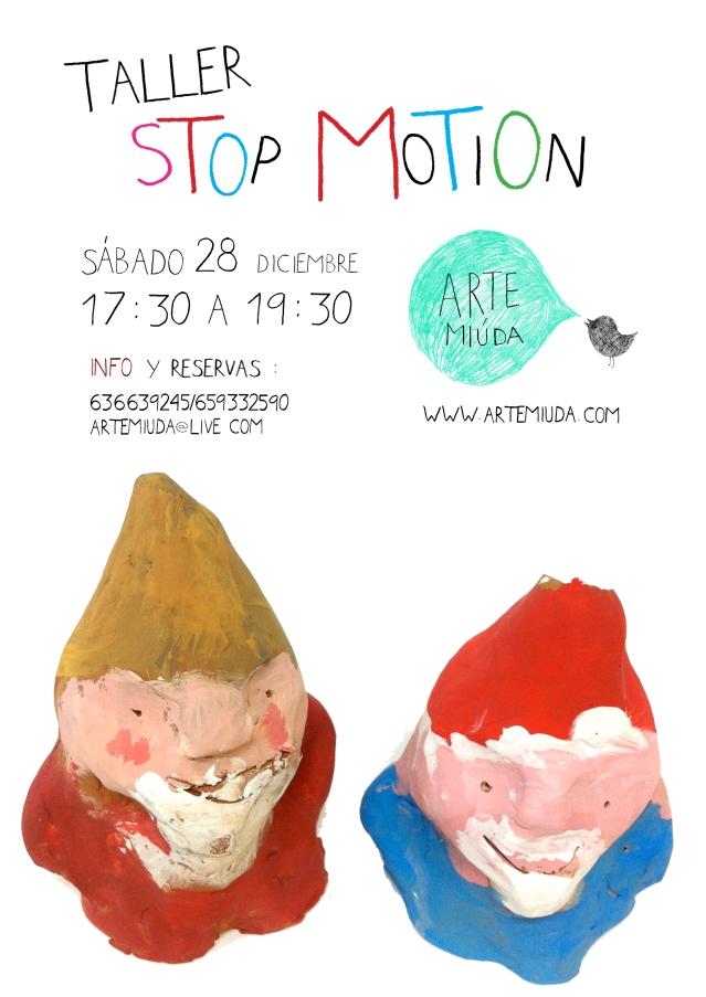 cartel taller stop motion navidad 2013