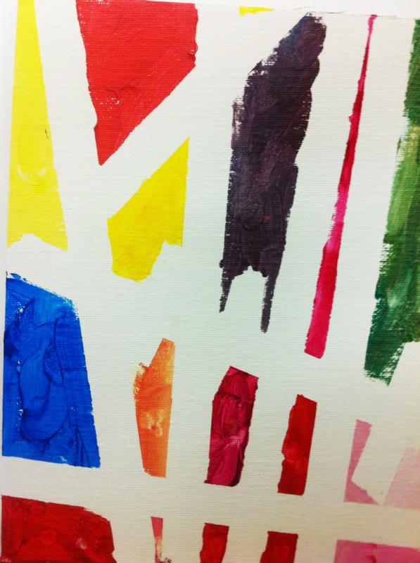 Un Mondrian para Papa. ©Arte Miuda 2014-18