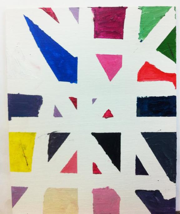 Un Mondrian para Papa. ©Arte Miuda 2014-19