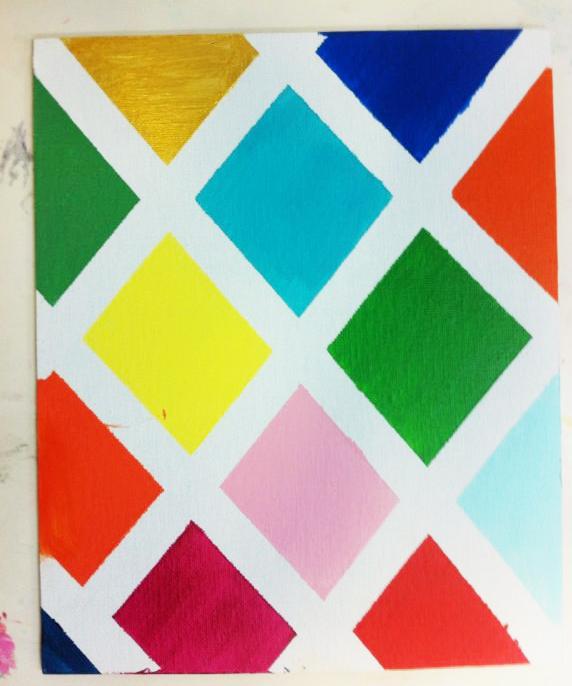 Un Mondrian para Papa. ©Arte Miuda 2014-22