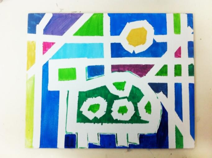 Un Mondrian para Papa. ©Arte Miuda 2014-35