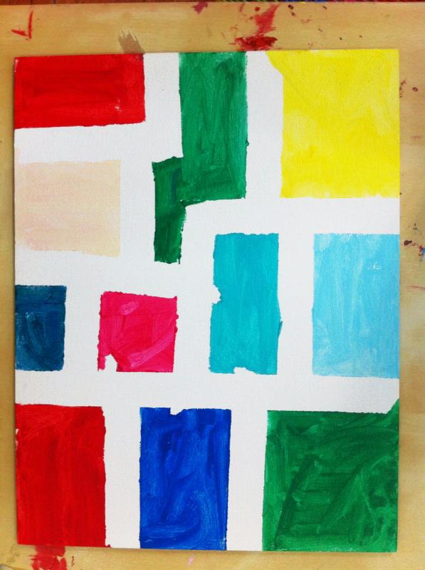 Un Mondrian para Papa. ©Arte Miuda 2014-37