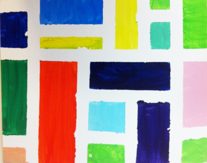 Un Mondrian para Papa. ©Arte Miuda 2014-41