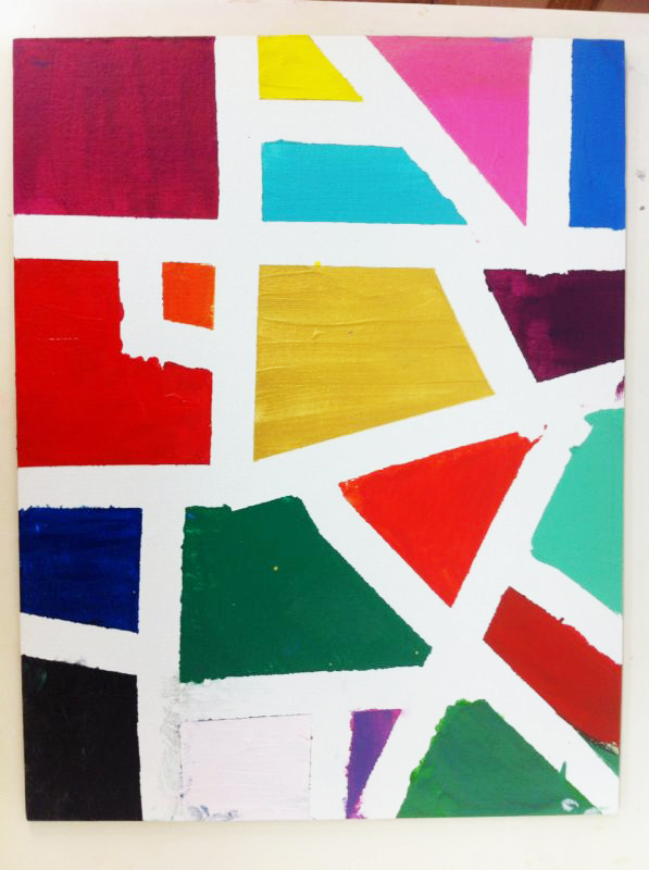 Un Mondrian para Papa. ©Arte Miuda 2014-42