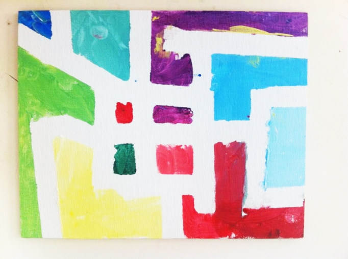 Un Mondrian para Papa. ©Arte Miuda 2014-46