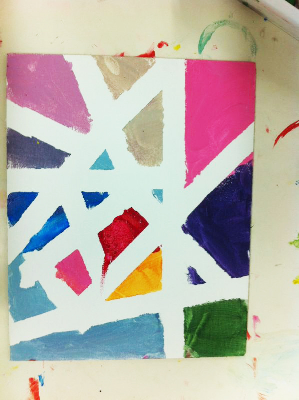 Un Mondrian para Papa. ©Arte Miuda 2014-6