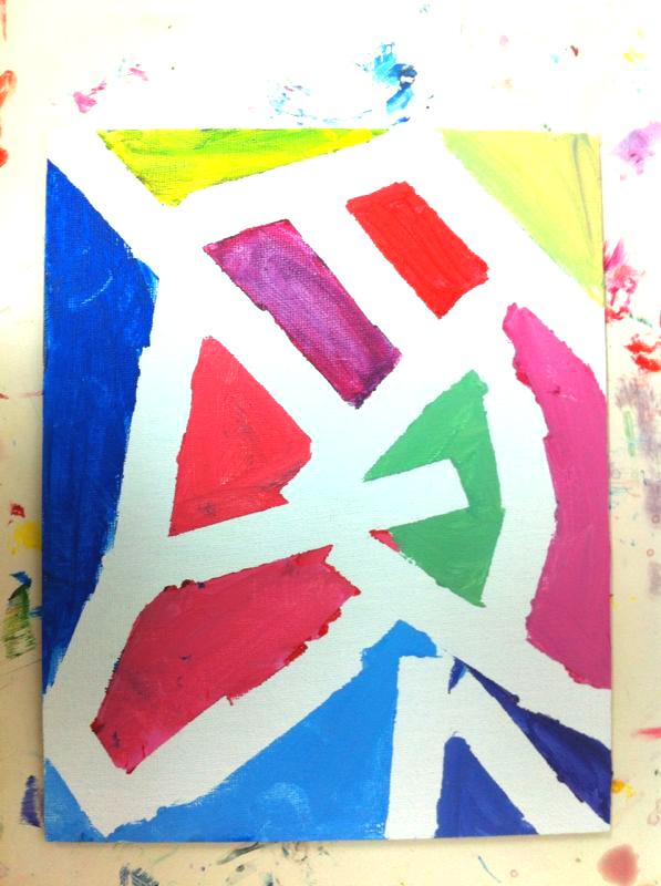 Un Mondrian para Papa. ©Arte Miuda 2014-7
