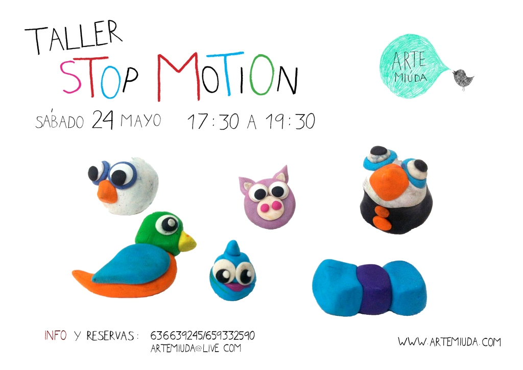 cartel stop motion 24 mayo