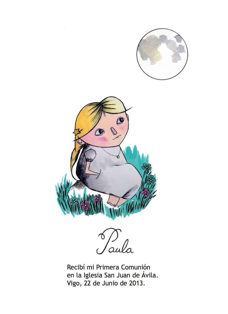 Prueba comunión © Arte Miúda, ilustración Clara Pisón López