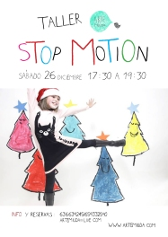 Cartel Taller Stop Motion Arte Miúda 26 dic 2015 RGB