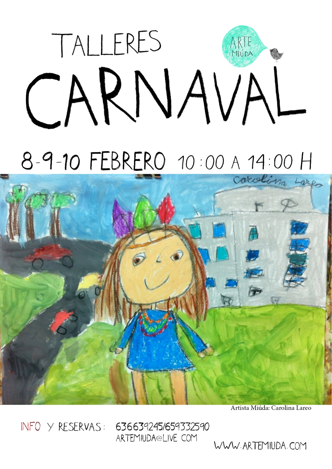 Cartel Carnaval Arte Miúda 2016