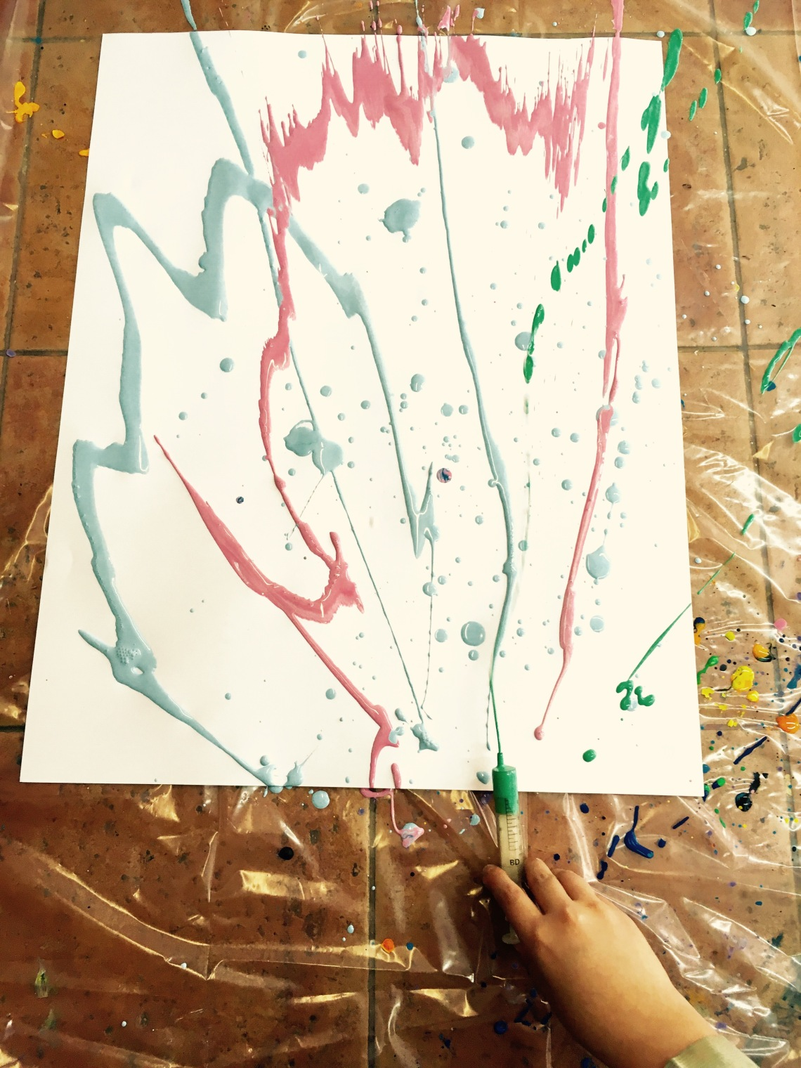 ©Arte Miúda. Semana de Jackson Pollock.2016