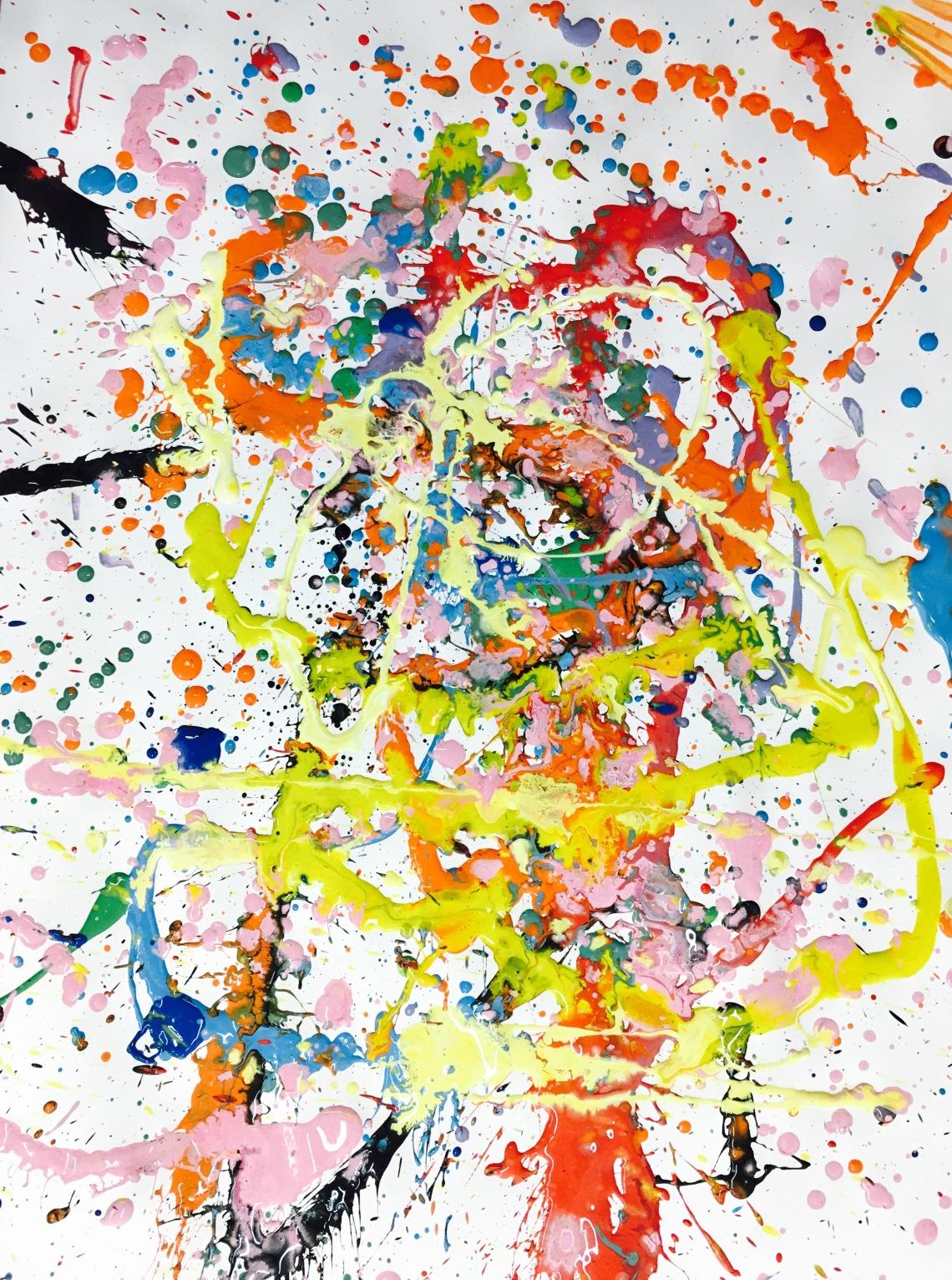 ©Arte Miúda. Semana de Jackson Pollock. Vigo, 2016.