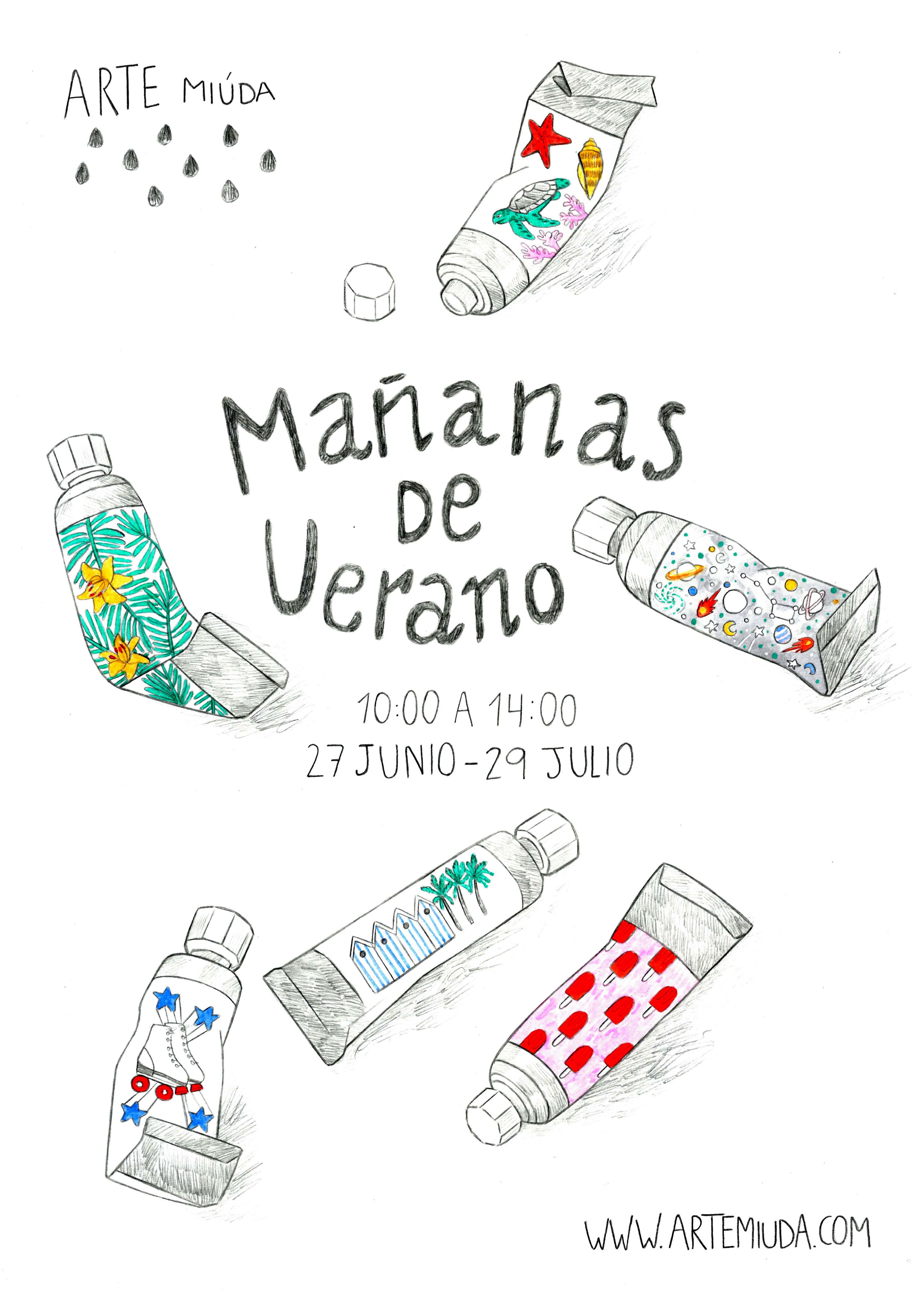 ©Arte Miúda 2016. Ilustración de Clara Pisón López