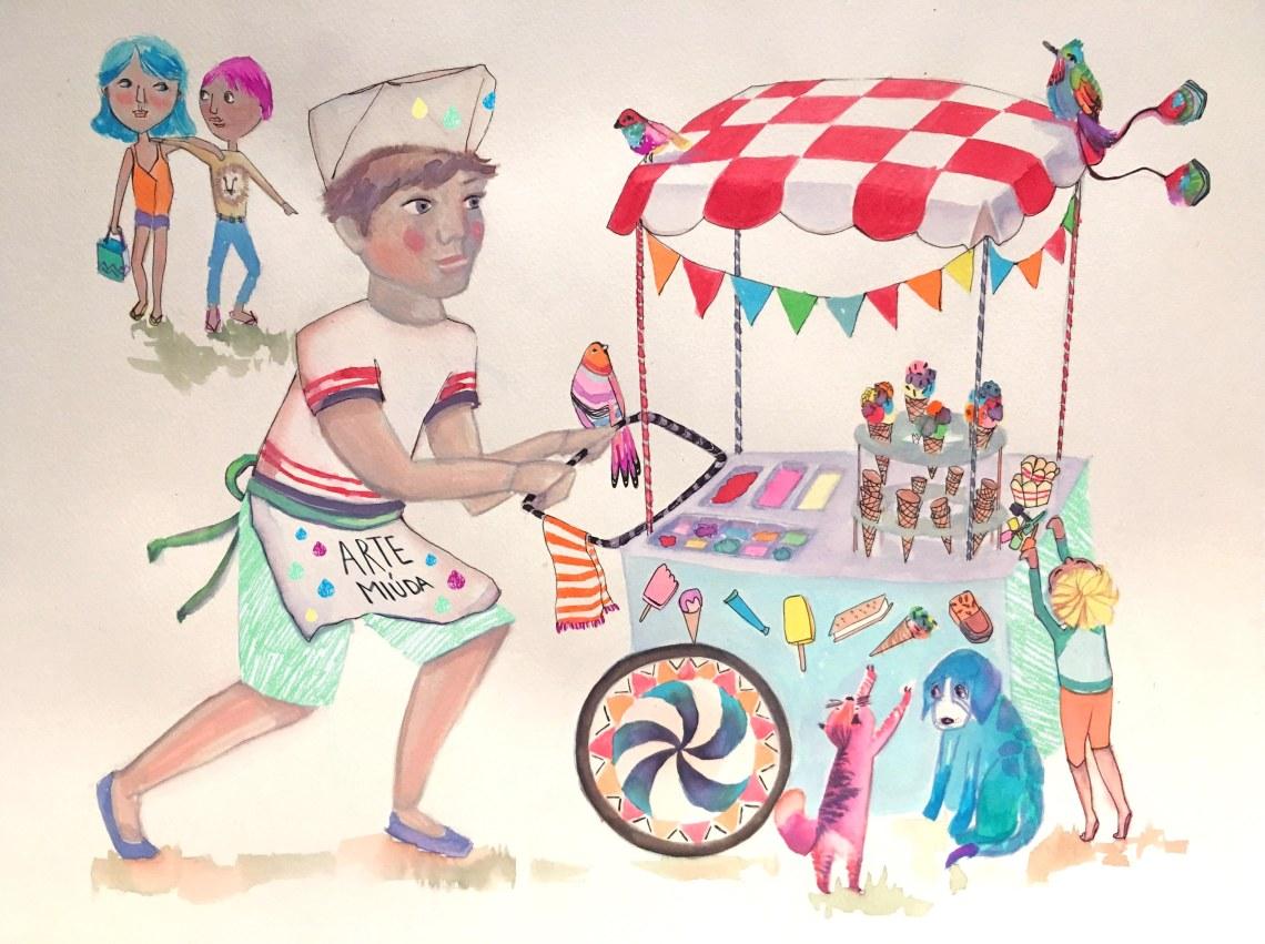 @3Heladero.Ilustración EILArts. ArteMiúda2016