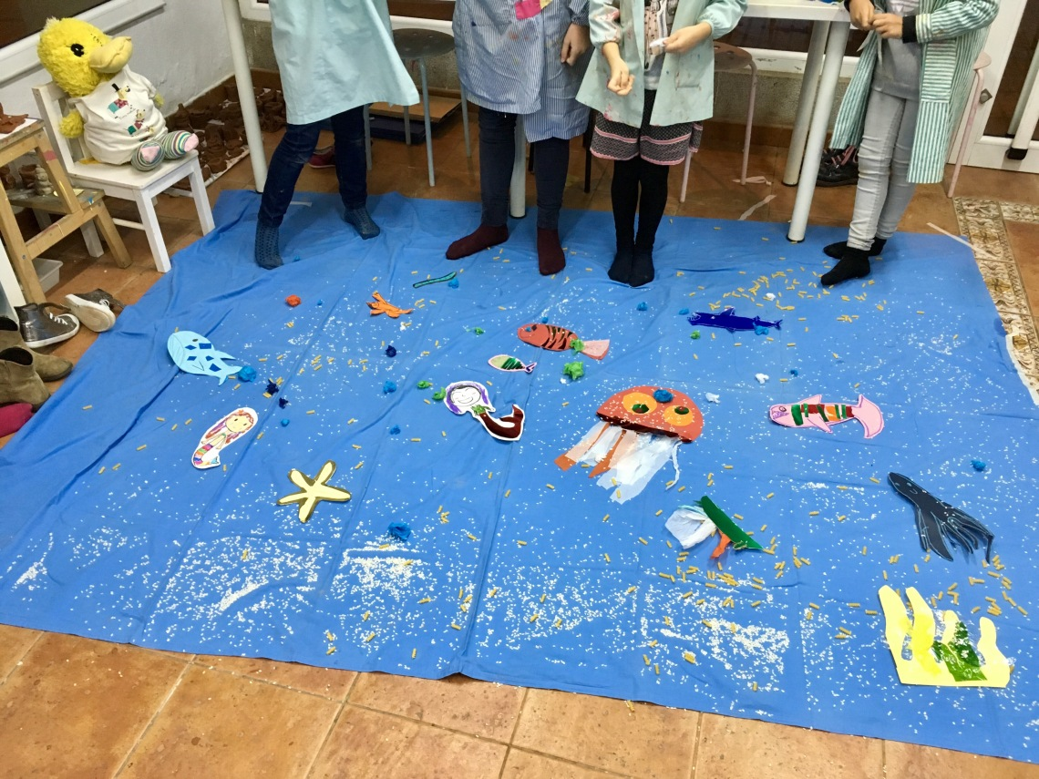Taller de Stop Motion para niños en Arte Miúda 2016