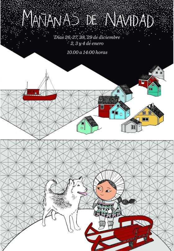 Cartel_Navidad_Arte_Miúda_2017_Ilustración_Clara_Pisón_López