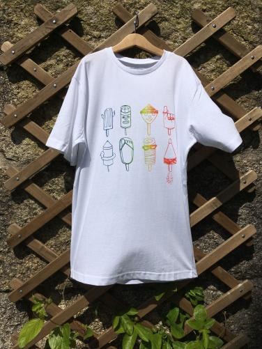 """Camiseta """"Heladitos Ochenteros"""", diseño original Eila Moon. ©Arte Miúda"""